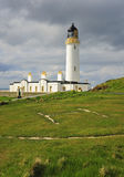 Helicopter pad, Mull of Galloway lighthouse Royalty Free Stock Photography