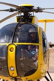 Helicopter pilot Royalty Free Stock Photography