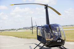 Helicopter r44 Stock Image