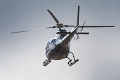 Helicopter rear side Stock Photo