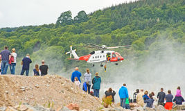 Helicopter rescue. Stock Photography