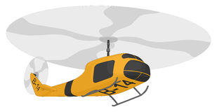 Helicopter (rescue) Royalty Free Stock Photography