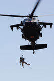 Helicopter Rescue Operation Royalty Free Stock Image
