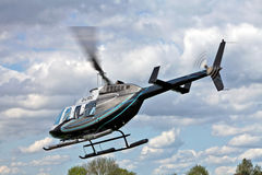 Helicopter rides Stock Image