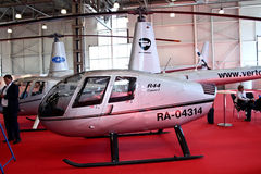 Helicopter Robinson  R44 Clipper Stock Photos