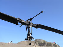 Helicopter Rotor Blades Royalty Free Stock Photography