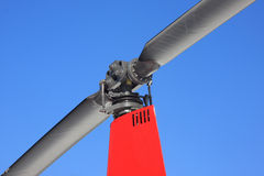 Helicopter rotor detail Stock Images