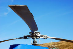 Helicopter rotor Stock Photography