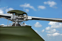 A helicopter rotor head Royalty Free Stock Images
