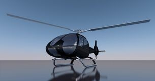 Helicopter, Rotor, Rotors, Aircraft Stock Image