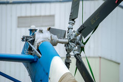 Helicopter rotor Stock Image