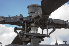 Helicopter's rotor Stock Image
