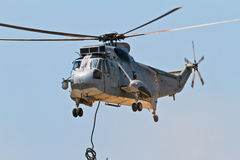 Helicopter Seaking Royalty Free Stock Photo