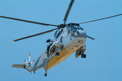 Helicopter Seaking Royalty Free Stock Photography