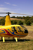 Helicopter Service Royalty Free Stock Image