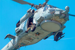 Helicopter SH-60B Seahawk Royalty Free Stock Photography