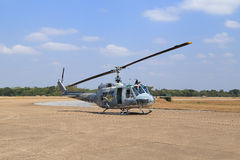 Helicopter show on children's Day at Korat Wing 1 Royal Thai Air Royalty Free Stock Image