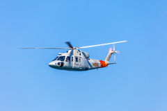 Helicopter Sikorsky S-76C Stock Images