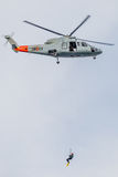 Helicopter Sikorsky S-76C Royalty Free Stock Photo