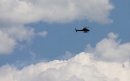 Helicopter in the sky Royalty Free Stock Image