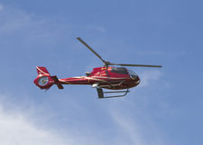 Helicopter in the sky Stock Image