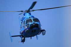Helicopter. Of the spanish customs stock photography
