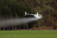 Fertiliser spraying Stock Photography