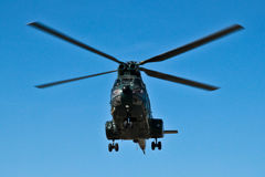 Helicopter starting Royalty Free Stock Images