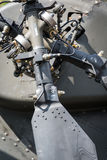 Helicopter tail rotor detail Stock Photography