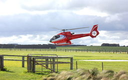 Helicopter tourist flights Royalty Free Stock Photo