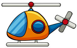 Helicopter toy royalty free illustration