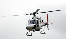 Helicopter tv Stock Image