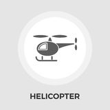 Helicopter vector flat icon Royalty Free Stock Photo