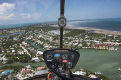 Helicopter View Stock Images
