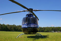 Helicopter waiting Stock Photography