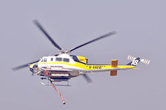 Helicopter: Water Carrying stock image