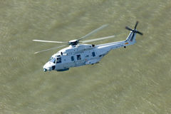 Helicopter water Stock Photo