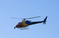 Free Helicopter With Camera Stock Image - 3357631