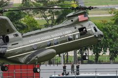 Helicopters of the American air force stock photography