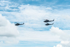 Helicopters of the Canadian Army Royalty Free Stock Photo