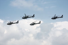 Helicopters Royalty Free Stock Images