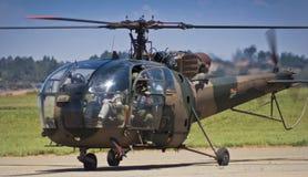 Helicóptero de Alouette III - SAAF 628 Fotografía de archivo libre de regalías
