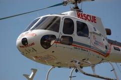 Helicóptero del rescate Imagenes de archivo