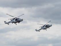 Helicóptero do Mk 8 do lince Foto de Stock