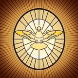 Helig ande St Peter rome vektor illustrationer