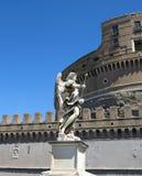 Helig Angel Castle Castel Sant ` Angelo i Rome, Italien Rome båge Royaltyfri Bild