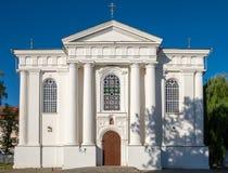 helig antagandedomkyrka för 17th århundrade Zhirovichi Vitryssland Arkivfoton