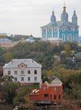 Helig antagandedomkyrka i Smolensk Royaltyfria Foton