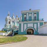 Helig antagandedomkyrka i Smolensk, Ryssland Royaltyfria Bilder