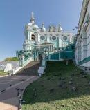 Helig antagandedomkyrka i Smolensk, Ryssland Fotografering för Bildbyråer